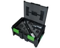 Комплект с аккумуляторным гидравлическим прессом AS-6, в ящике SysCon с метрическими насадками
