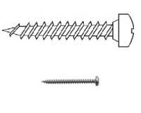 Универсальный винт с полукруглой головкой (в ассортименте)